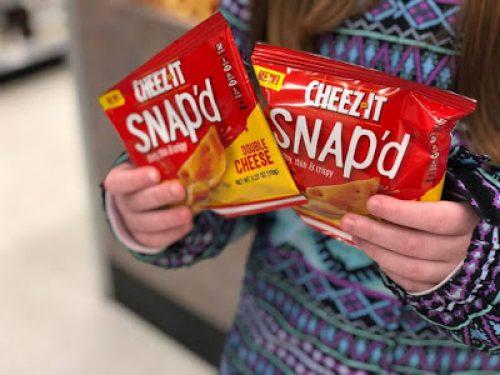 FREE Cheez-It Snap'd Sample at Walmart Freeosk - Loot Max
